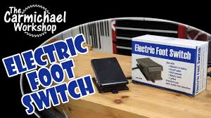 Harbor Freight Rotary Table by Harbor Freight Foot Switch Review Youtube