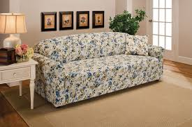 as seen on tv chair covers furniture floral and loveseat blue floral sofa