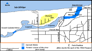 map of calumet michigan maps of the chanute experiments