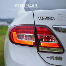 2011 toyota corolla brake light bulb hireno tail l for toyota corolla 2011 2012 2013 taillight rear