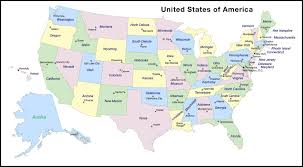 Blank United States Map by Us States And Capitals Map 50 States And Capitals Of Usa