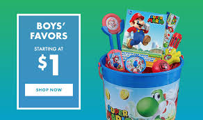 party favors for boys birthday party favors party favors for kids party city