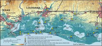 louisiana elevation map data series 220