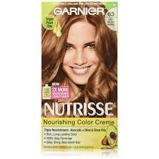 light golden brown hair color garnier nutrisse haircolor creme light golden brown 63 1 ea pack