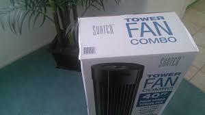 sunter tower fan costco sunter tower fan combo unboxing youtube