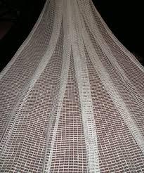 Cotton Tie Top Curtains by 2 Pcs Cotton Semi Transperant Tie Top White Door Bedroom Curtains