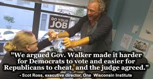 Wisconsin Meme - judge rules in favor of one wisconsin institute voter rights claims