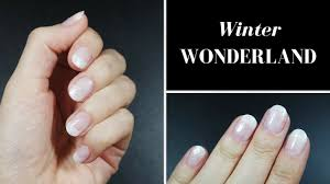 winter wonderland nails youtube