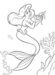Little Mermaid Coloring Pages Stencil Barbie Printable Baby Shower Princess Stencil Free Coloring Sheets