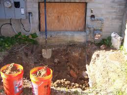 basement entrance excavation u0026 site work contractor talk