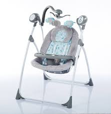 Swinging Baby Chairs Electric Baby Bouncer U0026 Swing Cangaroo Swing Star Grey
