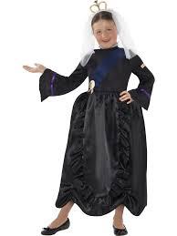 medieval queen girls fancy dress victorian book character