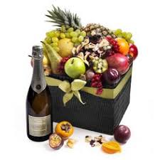Wedding Gift Delivery Seasonal Deluxe Exotic Fruit Hamper U0026 Champagne Wedding Gift