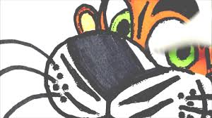 coloring pages tiger animal drawing pages to color for kids learn