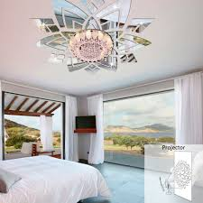 compare prices on wall stickers ceiling decor mirror online