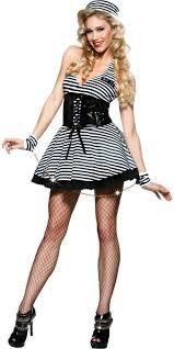Womens Prisoner Halloween Costume 25 Jailbird Costume Ideas Tutu Costumes