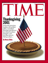 time magazine cover thanksgiving 2001 nov 19 2001 holidays