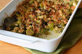 brussels sprouts gratin once upon a chef
