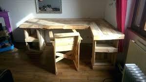 desk diy wooden pallet corner desk how to make a corner desk