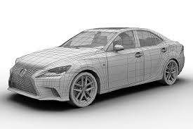 lexus models and prices 2014 2014 lexus is350 3d cgtrader