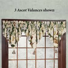 Swag Curtains With Valance Window Valances Touch Of Class