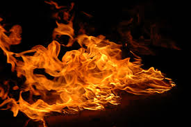 what state of matter of fire or flame