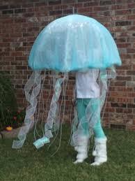 Bubble Wrap Halloween Costume Kate Jellyfish Clear Umbrella Cover Bubble Wrap