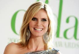 pictures of long bob hairstyles heidi klum