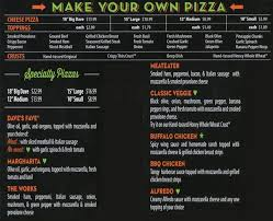 Double Daves Pizza Buffet Hours by Doubledave U0027s Pizzaworks Menu Urbanspoon Zomato