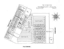 Elyria Ohio Map by Jewish Cemetery List