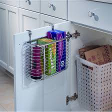 elegant kitchen wrap storage rack taste