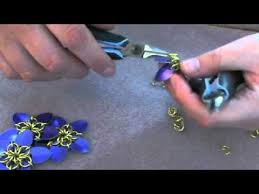 mail flowers how to make scale mail maille flowers