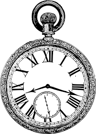 clipart old pocketwatch