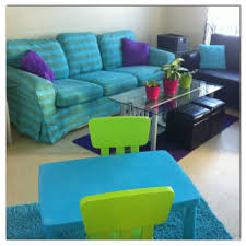 favourite ikea hack dyed the ektorp sofa cover turquoise u0026 made a