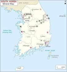 pusan on map maps of south korea bizbilla