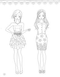 fashion coloring page source preview kyobobook co kr 소녀룩