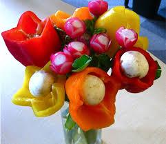 edible floral arrangements veggie flower arrangement is a cool centerpiece and snack floral