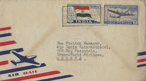 postage rates gallery air india collector