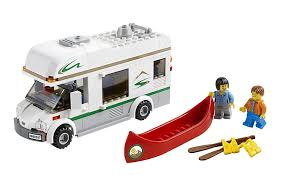 mitsubishi lego amazon com lego city great vehicles 60057 camper van
