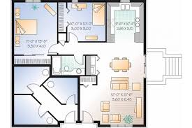 triplex with two story apartments hwbdo06807 european multi family
