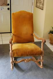 Upholstered Nursery Rocking Chair Reved Home Furnishings Provincial Nursery Rocking Chair