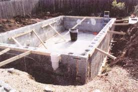 Natural Swimming Pool How To Build A Natural Swimming Pool Diy Mother Earth News