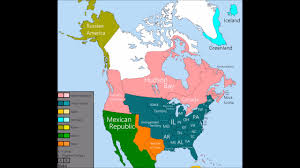 1783 Map Of The United States by The History Of The United States And Canada 1783 2016 Youtube
