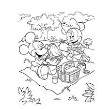 25 free printable cute minnie mouse coloring pages