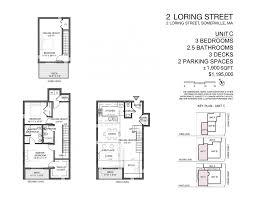 floorplans u2013 2 loring street