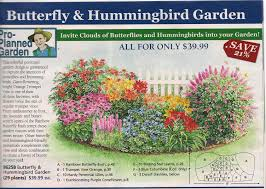 garden plan from michigan bulb co for a butterfly garden east