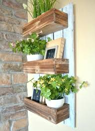 indoor hanging garden wooden wall planter simple and easy project