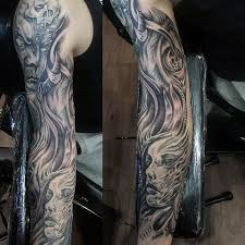 and demons half sleeve elaxsir