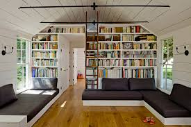 modern home library interior design creative home library designs for a unique atmosphere