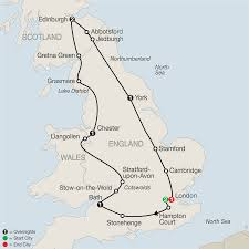 York England Map by Save 10 On 2017 Globus Europe Early Booking Vacations